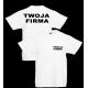 T-shirt 160g / nadruk przód i tył