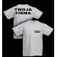 T-shirt 180g / nadruk przód i tył