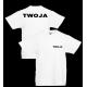 T-shirt 205g / nadruk przód i tył