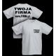 T-shirt 180g / nadruk przód i tył 20szt
