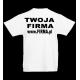 T-shirt 160g / nadruk tył