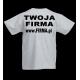 T-shirt 180g / nadruk tył 20szt