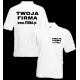 Koszulka Polo 170g / nadruk przód i tył